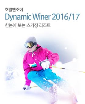 Dynamic Winter 2016/17 시즌한눈에 보는 스키장 리조트 배너이미지